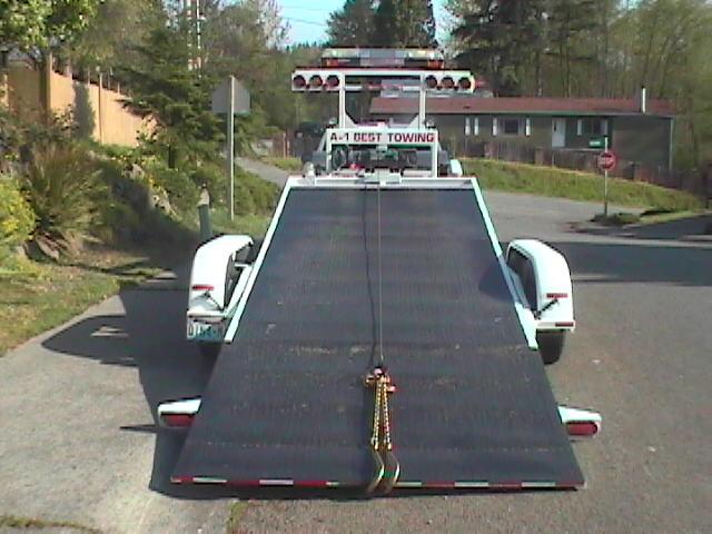 gooseneck  hydraulic tilt trailer
