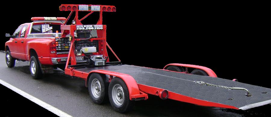 Tow Truck Car Trailer