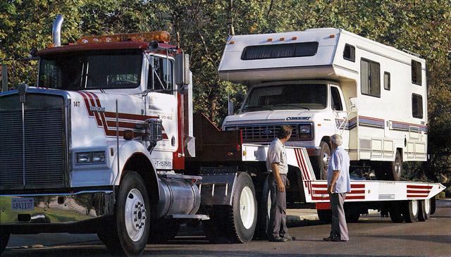 Landoll tow truck